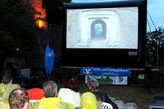 Homburger Kino Open Air 2016 innerhalb der Festungsruine Hohenburg. Foto: Joerg Herrlinger